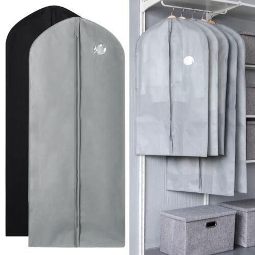 1//5//10Pcs Garment Suit Bag Dress Clothes Coat Cover Breathable Protector Storage