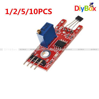 12510pcs Linear Module Hall Magnetic Standard For Arduino Avr Pic Ky-024