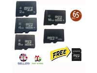 2GB 8GB 16GB 32GB 64GB Micro SD Card Class 10 TF Flash Memory SDHC FREE ADAPTER GUARANTEED CHEAPEST