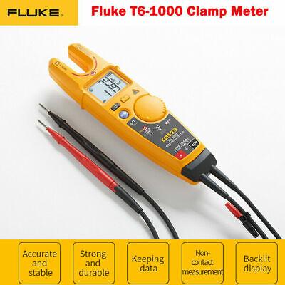 Fluke T6-1000 1000v Voltage Current Electrical Tester Clamp Meter Ft61000 New