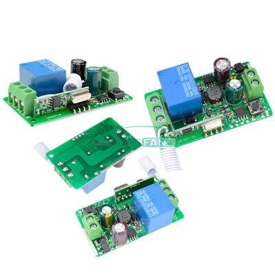 315433mhz Wireless Rf Remote Receiver Transmitter Relay 220v 1ch Control Switch