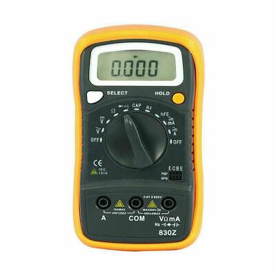 Multimeter Auto Range Meter Measure Acdc Volt Ampmeter Resistance Tester Cat Ii