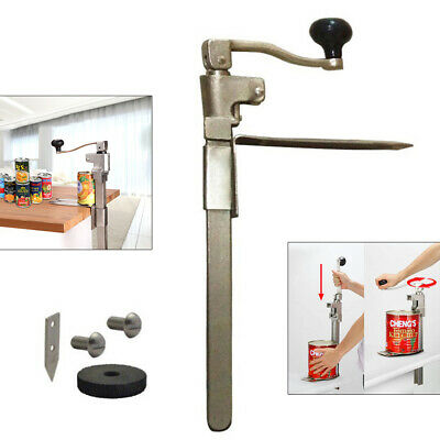 Detachable Food Can Opener Commercial Kitchen Restaurant Table Tool Stainless Us