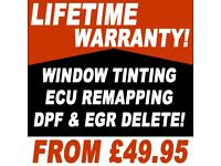 Professional Car Window Tinting \ ECU Remapping \ DPF & EGR Delete