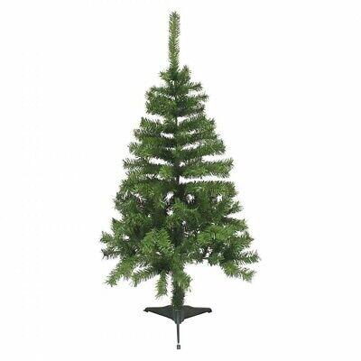 164068 Árbol de Navidad 120H cm con 145 ramas plegables en PVC...