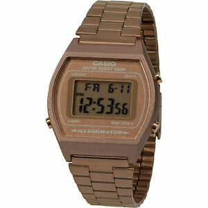 a8a5347080bd B640wc-5 Casio Rose Gold Digital Stainless Steel 100 Original for ...