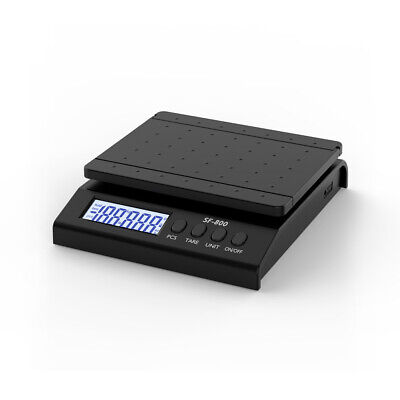 30kg1g Digital Packaging Shipping Postal Scale Weight Postage W Adapter Black