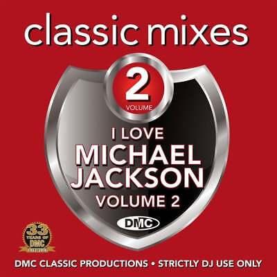 DMC Michael Jackson Vol 2 Megamixes & 2 Trackers Remixes Ft Paul McCartney DJ CD ()