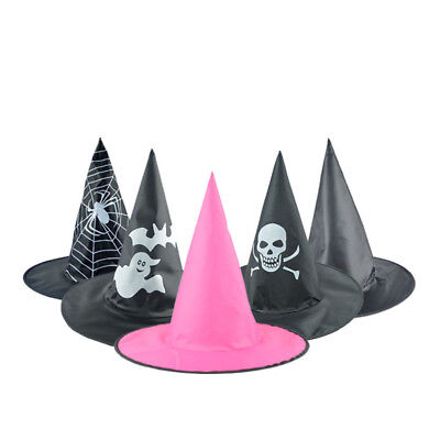 Fashion Adult Womens Cute Black Witch Hat For Halloween Costume Accessory Caps - Cute Halloween Costumes For Ladies
