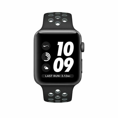 Grade C: Apple Watch Nike+ Series 2 38mm (GPS) - Space Grey Aluminium Case with