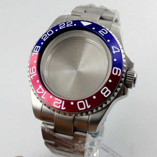 Fit NH35 NH36 Automatic Movement Watch Case Watch Bracelet Sapphire Crystal