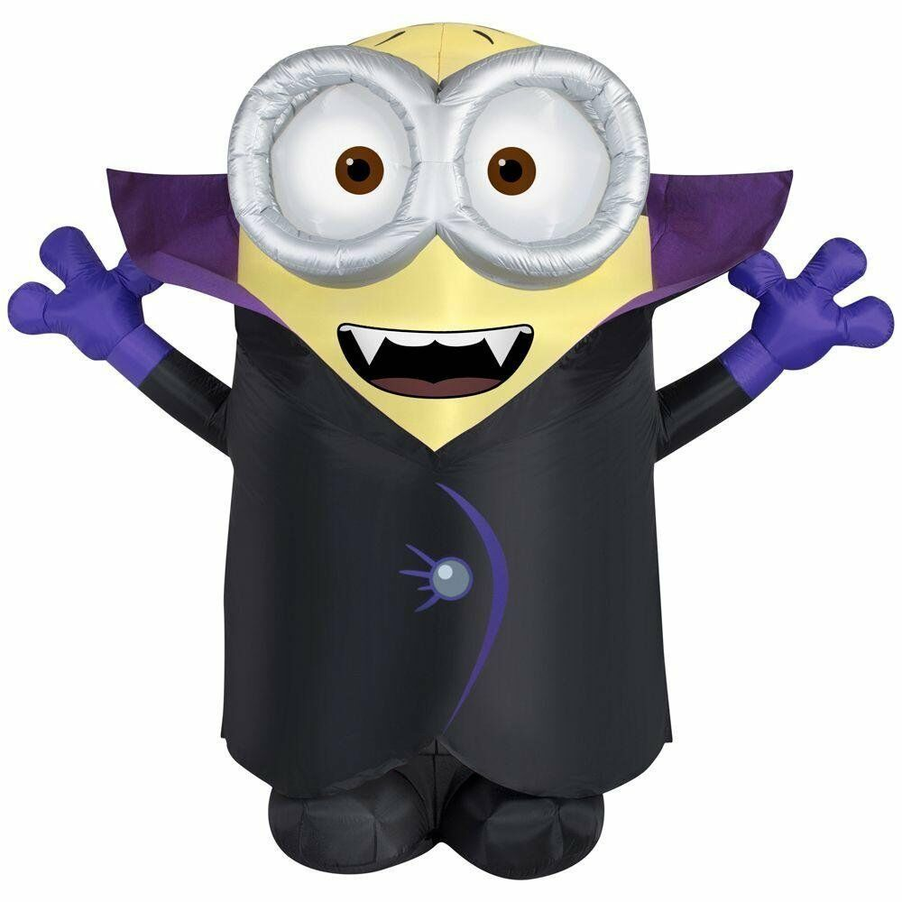 Halloween Inflatable Giant Vampire Minion Gone Batty By Gemmy