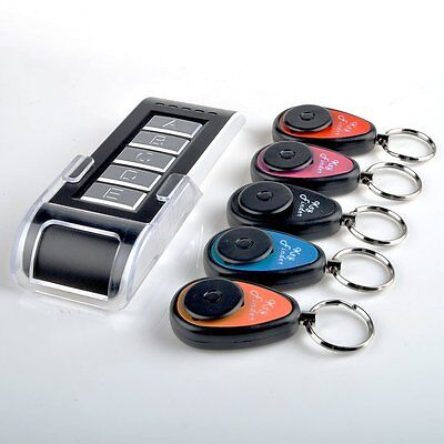 5 in 1 Wireless Things Lost Key Finder Locator Alarm Keychain 85dB Sound Seeker