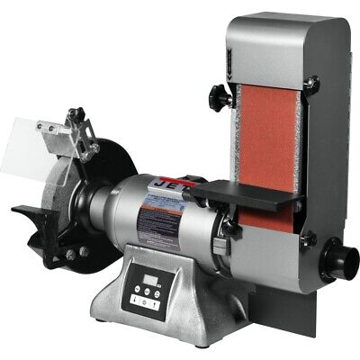 Jet 577436 Ibgb-436vs 8-inch Variable Speed Industrial Grinder And 4 X 36 Belt