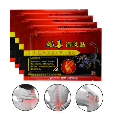 Sumifun 80Pcs 100% Natural Pain Relief Patch Back Neck Muscle Massage D0998 segunda mano  Embacar hacia Argentina