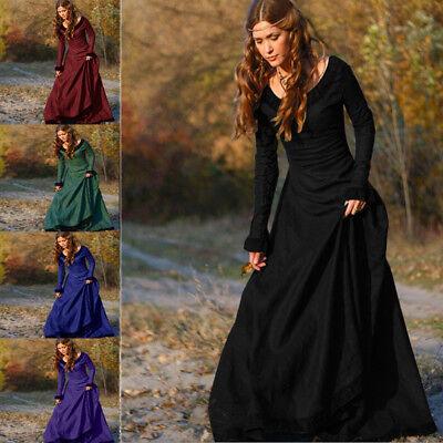 Prinzessin Renaissance Kostüm (Vintage Damen Mittelalterliches Kleid Cosplay Kostüm Prinzessin Renaissance)