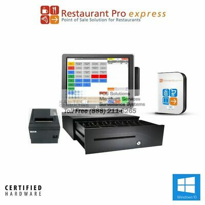 Pcamerica Rpe Pro Chinese Restaurant Pos System All-in-one Pos 3gb Ram