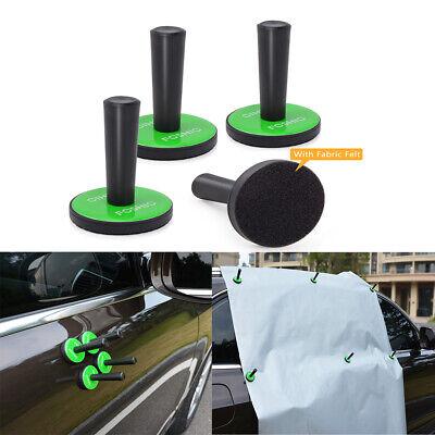4pcs Strong Car Magnetic Holder Vehicle Wrap Vinyl Film Fixing Tool Window Tint