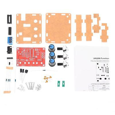 Function Signal Generator Diy Kit Square Adjustable Frequency Amplitude New P0l3