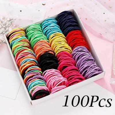 100PCS/Lot Hair Rope Elastic Styling Tool Hair Knitting Braided Rope Headband Je