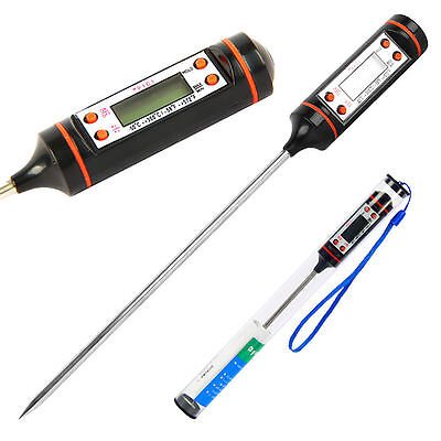 NEW DIGITAL PROBE THERMOMETER FOOD TEMPERATURE SENSOR FOR COOKING BAKING MEAT