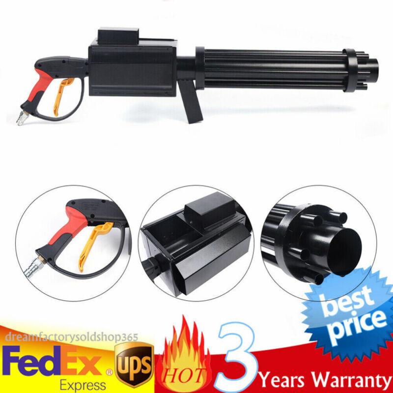 YS-C8 CO2 Color Paper Gun-LED Handheld Confetti Gun w/ CO2 Effect Smoke Machine