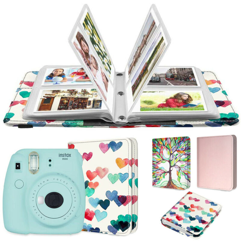 104 Pockets Mini Photo Album For Fujifilm Instax 3-Inch Film Mini 9 / 8 / 90/ 25