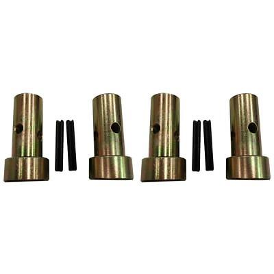 2 Sets Of Fits Category 1 Quick Hitch Adapter Bushings Fits John Deere Speeco Je
