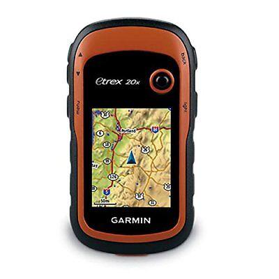 Garmin eTrex 20X Handheld GPS Unit, IPX7 Water Rating, Orange #010-01508-00