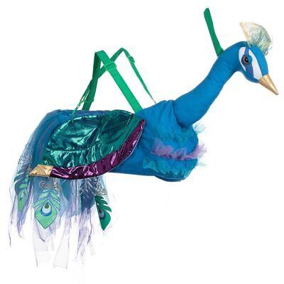 er Rutscher Blau Pfau Vogel Spielzeug Tier- Verkleiden Buch (Mädchen Verkleiden Jungen)