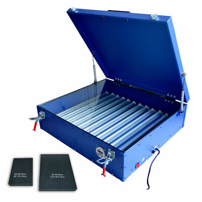Exposure Unit 25 X 28 Screen Printing Machine Silk Screen Led Light Plate Make
