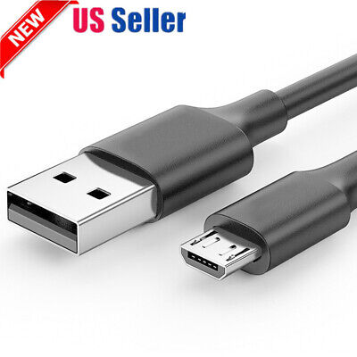 2019 Best Braided Micro USB Charger Charging Lead Data Sync Phone Cable 1M