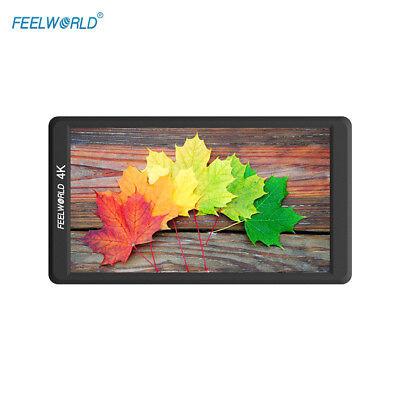 "Feelworld F570 5.7"" Ultra-thin IPS 1920x1080 Full HD 4K HDMI On-Camera Monitor"