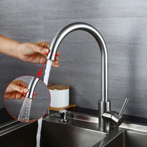 Homelody Küchenarmatur Spültischarmatur Wasserhahn mit 360° drehbar Brause Küche