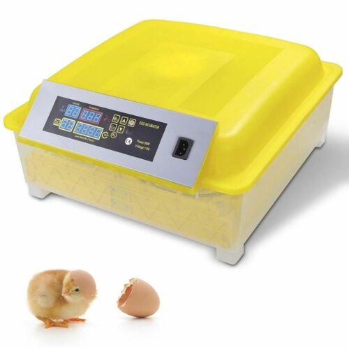 48Egg Incubator Chicken Egg Temperature Control Digital Automatic Turner Hatcher