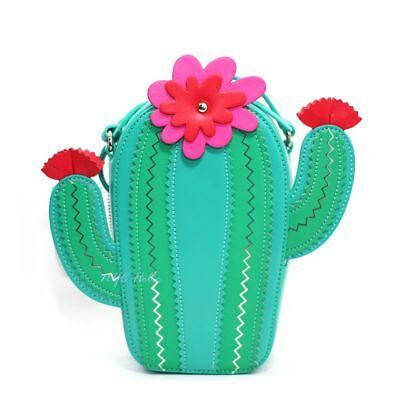 Kate Spade New Horizons Cactus Crossbody Lizard Green Bag