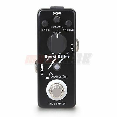 New LED Indicator Boost Killer Effect Pedal With Transparent Tone True Bypass