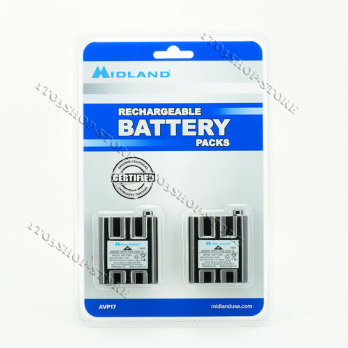 Midland BATT-5RX BATT5RX Rechargeable NiMH Battery for GXT1000/1050 T290, T295