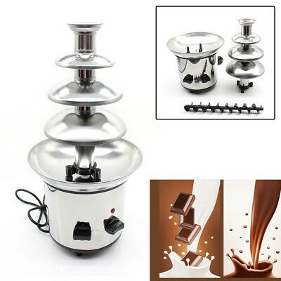 1kg 4 Tiers Commercial Stainless Steel Hot Luxury Chocolate