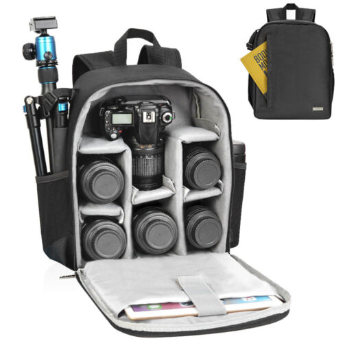 Caden Camera Bag Backpack For Camera And Lens Protection Storage And Portability Ebay