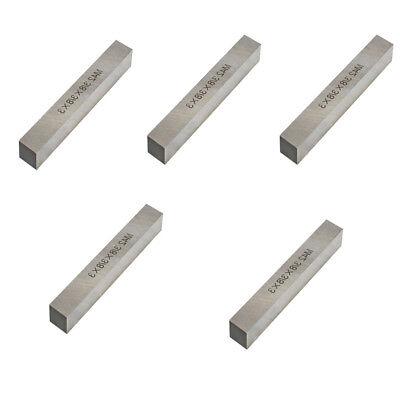 5 Pieces 38 X 38 X 3 M42 Hss Square Tool Bits Lathe Cutter