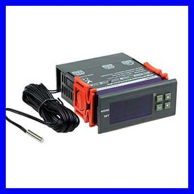 Ac 110v Fahrenheit Digital Temperature Controller 10a 1 Relay W Sensor