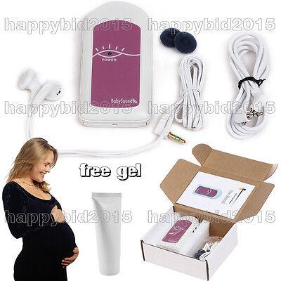 Ce Fda Hand-held Pocket Fetal Dopplerbaby Heart Beat Monitorgel