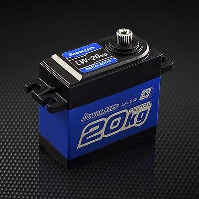 Power HD LW-20MG 4.8-6.6V 20kg.cm Water-Proof Digital Servo for 1:10 RC Crawler