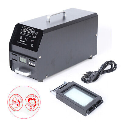 110v Digital Photosensitive Seal Flash Stamp Machine Selfinking Stamping Making