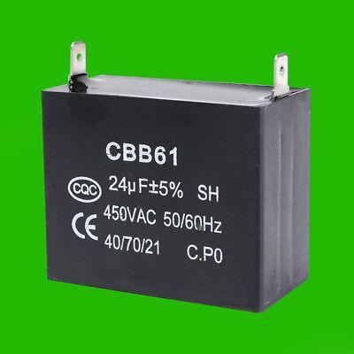 Coleman 24uf Capacitor For Powermate Proforce Mfd Cbb61 450vac Generator 0065134
