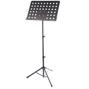 Heavy-Duty-orquestal-Partituras-conductor-Soporte-Soporte-tripode-plegable-base