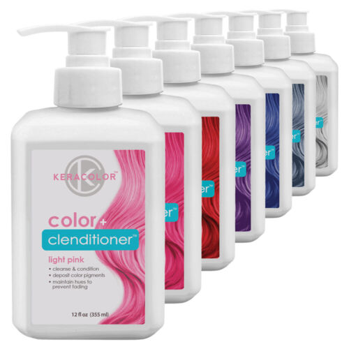 Keracolor Color Clenditioner Conditioning Cleanser, 12 oz (Choose Your Own)