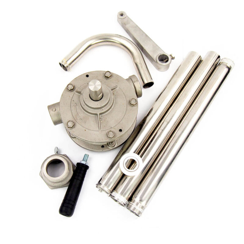 Dayton 38Y793 Stainless Steel Hand Operated Drum Pump