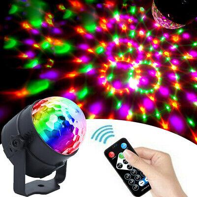 LED Discokugel Lichteffekt  RGB Bühnenbeleuchtung Bühnenlicht DJ Party Lampe EU ()